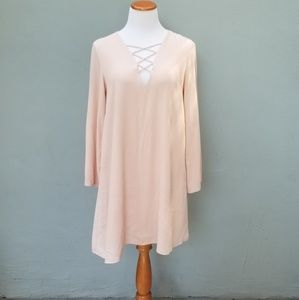 ❣ ASTR The Label Pink Blush Tunic Dress